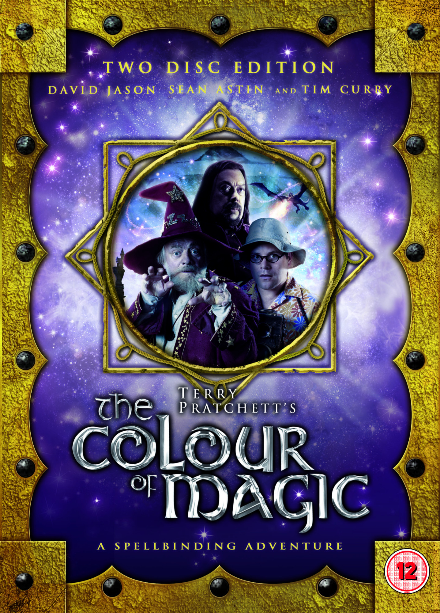 The Colour of Magic UK DVD Covers
