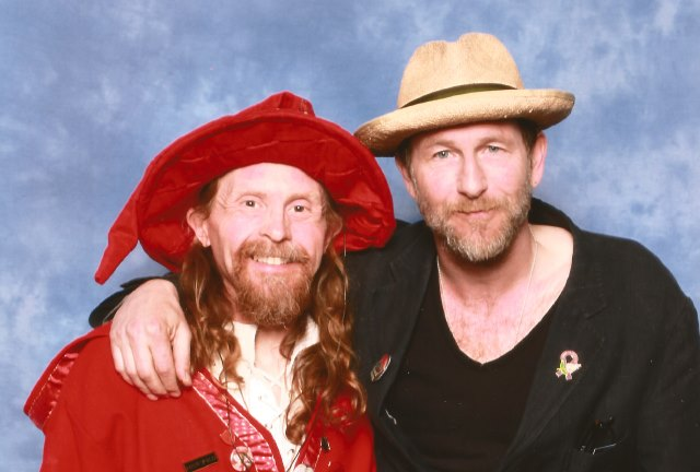 Rincewind and Paul Kaye