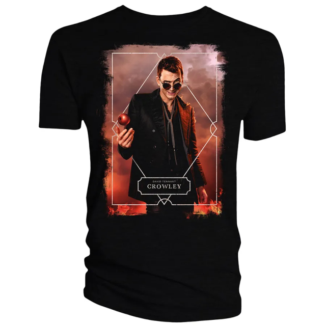 Good Omens Crowley T-shirt
