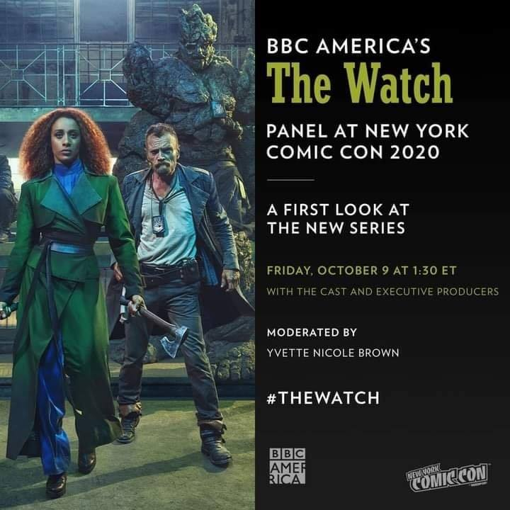 The Watch NYCC Panel