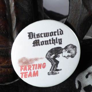 Farting Team Pin Badge