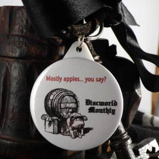 Mostly Apples Key ring