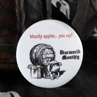 Mostly Apples Pin Badge