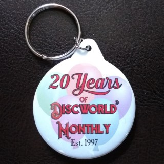 20 Years of Discworld Monthly Key Ring