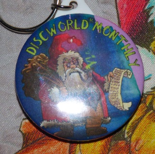 Hogfather Key Ring