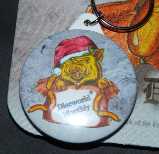 Hogswatch Piggy Key Ring