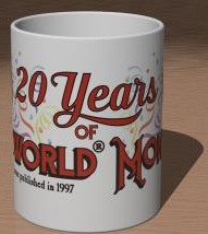 20 Years of Discworld Monthly Mug