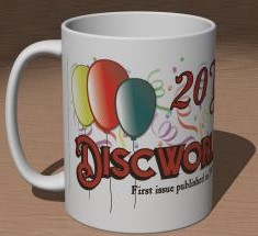 Detail (left): 20 Years of Discworld Monthly Mug