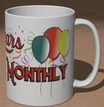Detail (right): 20 Years of Discworld Monthly Mug