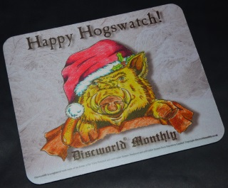 Hogswatch Piggy Mouse Mat