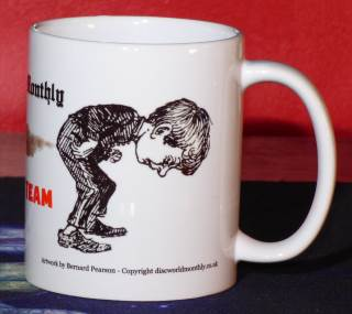 Detail (right): Farting Team Mug