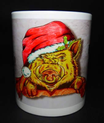 Hogswatch Piggy Mug