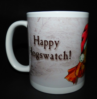 Detail (left): Hogswatch Piggy Mug