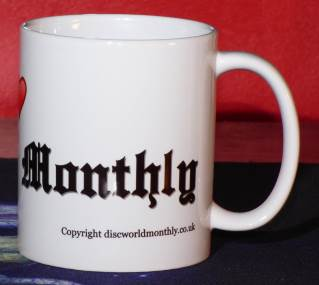 Detail (right): I Love Discworld Monthly Mug