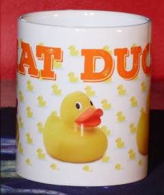 Item: What Duck Mug?