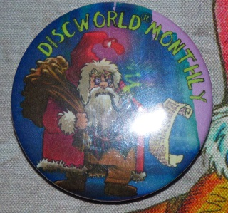 Hogfather Pin Badge